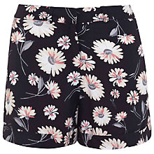 Buy Miss Selfridge Daisy Print Shorts, Multi Online at johnlewis.com