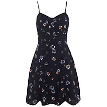 Buy Miss Selfridge Daisy Print Bow Detail Dress, Multi Online at johnlewis.com