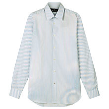 Buy Aquascutum Walker Stripe Shirt, White/Blue Online at johnlewis.com
