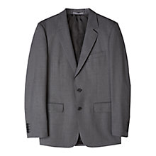 Buy Aquascutum Twill Wool Suit Jacket, Grey Online at johnlewis.com