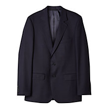 Buy Aquascutum Twill Suit Jacket, Navy Online at johnlewis.com