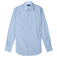 Buy Aquascutum Foster Mini Check Shirt, Blue Online at johnlewis.com