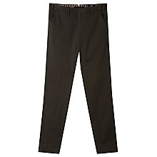 Buy Aquascutum Larkin Slim Trousers, Green Online at johnlewis.com