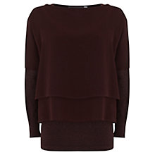 Buy Mint Velvet Double Layer Knitted Jumper, Multi Online at johnlewis.com