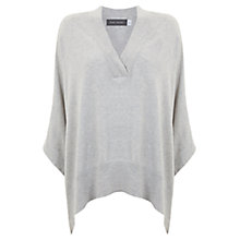 Buy Mint Velvet Oversized Cape, Silver Grey Online at johnlewis.com