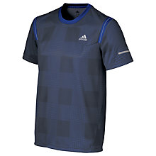 Buy Adidas Kanoi Graphic Short Sleeve Running Top, Midnight Grey Online at johnlewis.com