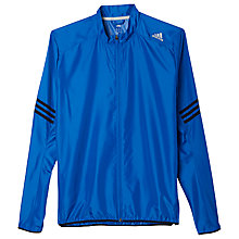 Buy Adidas Response Wind Jacket, Blue/Black Online at johnlewis.com