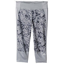 Buy Adidas Supernova 3/4 Running Tights, Grey Online at johnlewis.com
