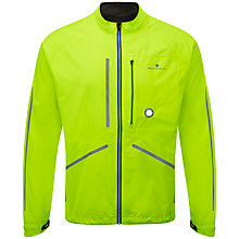 Buy Ronhill Vizion Photon Running Jacket, Fluorescent Yellow Online at johnlewis.com