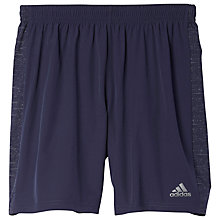 Buy Adidas Supernova Running Shorts, Midnight Grey Online at johnlewis.com