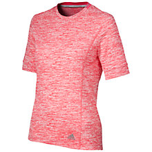 Buy Adidas Supernova Running T-Shirt, Super Pink Online at johnlewis.com