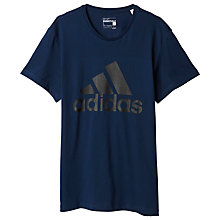 Buy Adidas Sport Essentials Logo Training T-Shirt Online at johnlewis.com