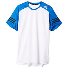 Buy Adidas Response Short Sleeve Running T-Shirt Online at johnlewis.com