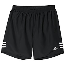 "Buy Adidas Response 7"" Shorts, Black/White Online at johnlewis.com"