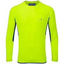 Buy Ronhill Vizion Long Sleeve Crew Neck Running Top Online at johnlewis.com