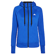 Buy Adidas Running Hoodie, Blue Online at johnlewis.com