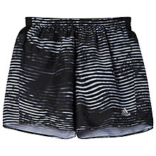 "Buy Adidas Response 5"" Graphic Running Running Shorts, Clear Grey Online at johnlewis.com"