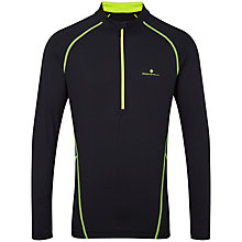 Buy Ronhill Thermal 200 Half-Zip Running Top, Black Online at johnlewis.com