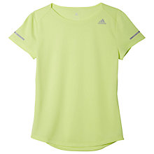Buy Adidas Sequencials Climalite Running Top Online at johnlewis.com