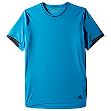 Buy Adidas Supernova Clima T-Shirt, Chill Blue/Black Online at johnlewis.com