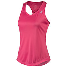 Buy Adidas Sequencials Climalite Running Tank Top, Super Pink Online at johnlewis.com