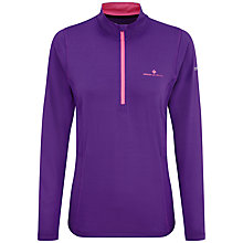Buy Ronhill Vizion Thermal 200 Half-Zip Running Top Online at johnlewis.com