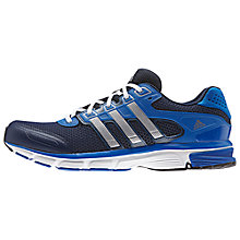 Buy Adidas Nova Cushion Men's Running Shoes, Navy Online at johnlewis.com