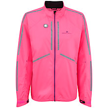 Buy Ronhill Vizion Photon Running Jacket, Fluorescent Pink/Wildberry Online at johnlewis.com