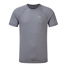 Buy Ronhill Advance Motion Short Sleeve T-Shirt, Grey Online at johnlewis.com