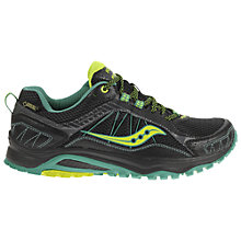 Buy Saucony Excursion Women's GTX Shoes, Black Online at johnlewis.com