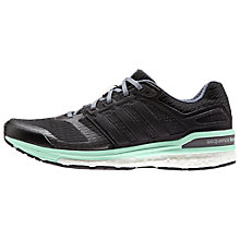 Buy Adidas Supernova Sequence Boost 8 Women's Running Shoes, Core Black/Iron Metallic Online at johnlewis.com