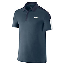 Buy Nike Team Court Tennis Polo Shirt, Squadron Blue Online at johnlewis.com