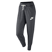 Buy Nike Gym Vintage Training Trousers, Carbon Heather Online at johnlewis.com