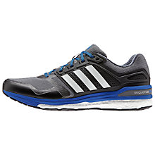 Buy Adidas Supernova Sequence Boost 8 Men's Running Shoes, Onix/Blue Online at johnlewis.com