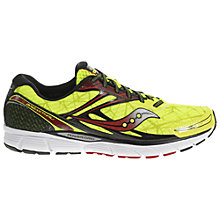 Buy Saucony Breakthru Men's Running Shoes, Citron Online at johnlewis.com
