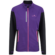 Buy Ronhill Vizion Mistral Running Jacket, Purple/Black Online at johnlewis.com