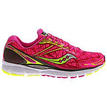 Buy Saucony Breakthru Women's Running Shoes, Pink Online at johnlewis.com