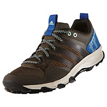 Buy Adidas Kanadia Trail 7 Men's Running Shoes, Brown Online at johnlewis.com