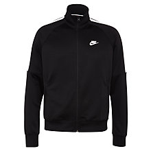 Buy Nike Tribute Track Jacket, Black Online at johnlewis.com
