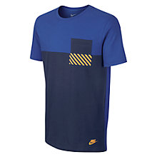 Buy Nike Hazard T-Shirt, Game Royal Online at johnlewis.com