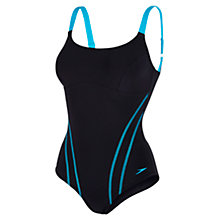 Buy Speedo Contour Seam Detail One Piece Swimsuit Online at johnlewis.com