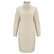 Buy Somerset by Alice Temperley Knitted Dress, Cream Online at johnlewis.com