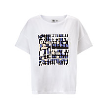 Buy Kin by John Lewis Osaka Print T-shirt, White Online at johnlewis.com