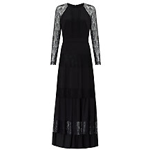 Buy Somerset by Alice Temperley Lace Maxi Dress, Black Online at johnlewis.com