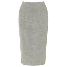 Buy John Lewis Reilly Jacquard Skirt, Black/White Online at johnlewis.com