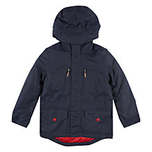 Buy Barbour Boys' International Keaton Jacket, Navy Online at johnlewis.com