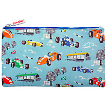 Buy Cath Kidston Children's Racing Cars Pencil Case, Blue Online at johnlewis.com