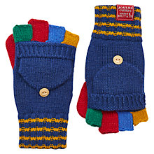 Buy Little Joule Children's Hayden Mitten Gloves, Navy Online at johnlewis.com