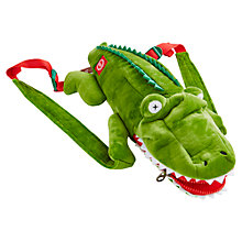 Buy Little Joule Snappack Crocodile Backpack Online at johnlewis.com