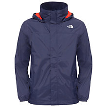 Buy The North Face Boys' Resolve Lightweight Hood Jacket, Navy Online at johnlewis.com